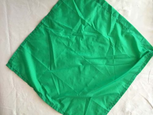 Retractable Pocket Flag - 120cm GREEN
