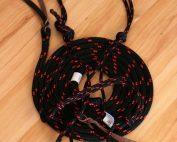 Halter & Lead Set - Black and Red - Full